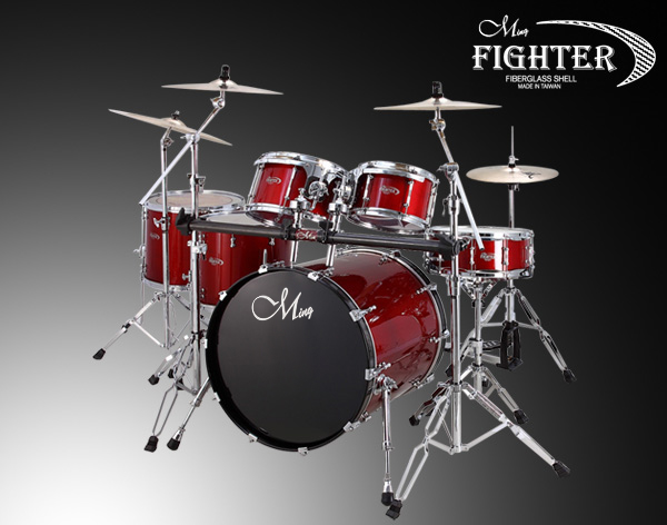 Fighter Drum Sets - F6-R