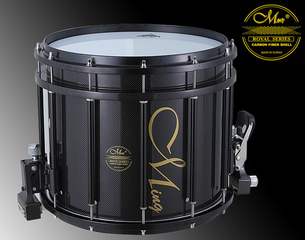 Royal Marching Drums - RMS1412HA-PBK