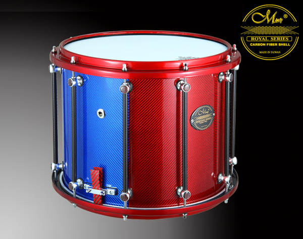Royal Marching Drums - RMS1412MX-PBR