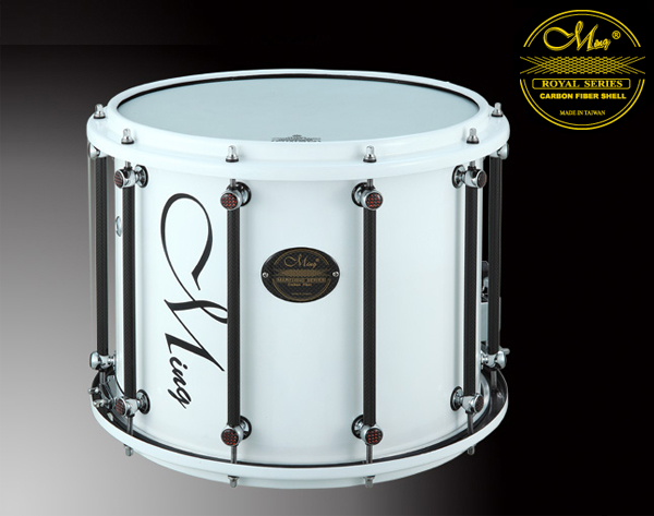 Royal Marching Drums - RMS1412MX-WWH