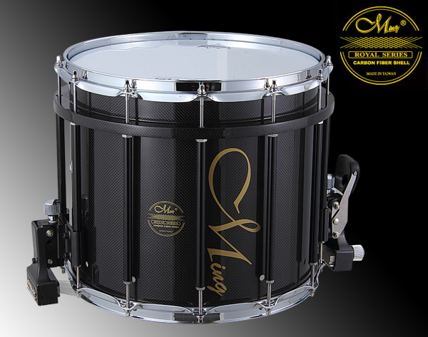 Royal Marching Drums - RMS1412HS-PBK