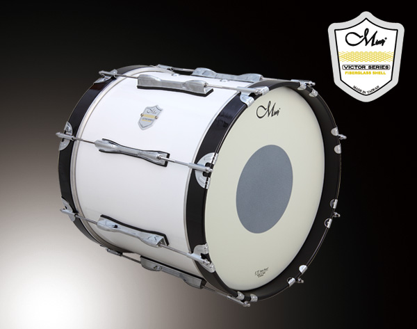 Victor Marching Drums - VMB1614-WWH